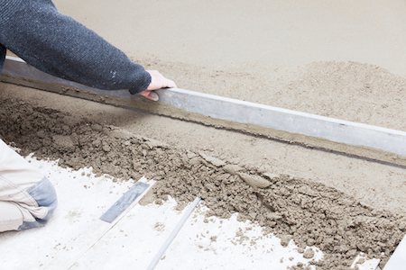 Concrete Slab Installation
