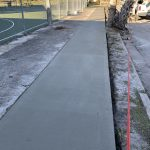 Concrete Sidewalk Installation